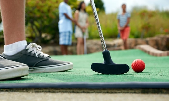 Group Special at Beachside Mini Golf